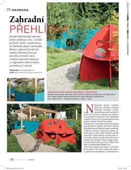 článek - Nejkrásnější zahrada