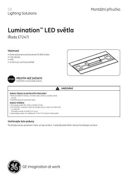 Lumination™ LED světla