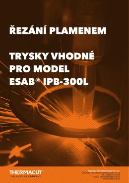 brožura oxy-fuel, esab ® model