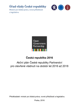Úřad vlády České republiky - Rada vlády pro koordinaci boje s korupcí