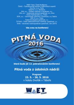 Konference Pitná voda 2016 - ENVI-PUR