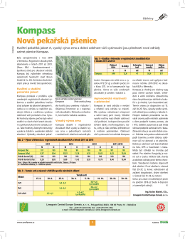 Kompass - Limagrain Central Europe Cereals, sro
