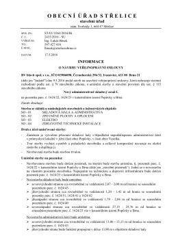 STAV/2263/2016/Bí Informace o návrhu VPS