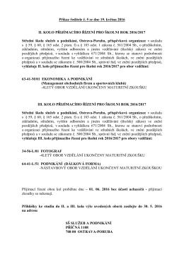zde - Střední škola služeb a podnikání, Ostrava