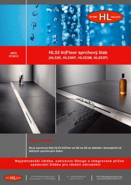 Sprchový žlab In Floor HL53