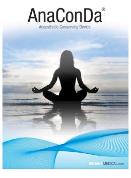AnaConDa – inhalační sedace