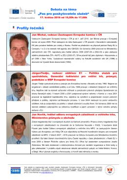 Profily řečníků