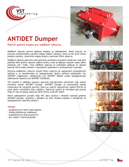 ANTIDET Dumper - VST engineering