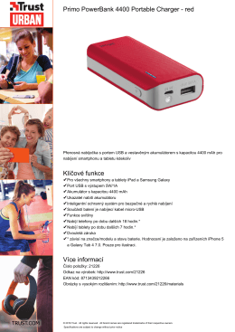 Primo PowerBank 4400 Portable Charger
