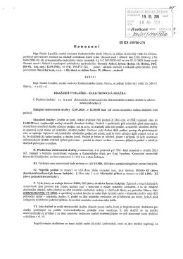 35 EX 109/06-276 Usnesení