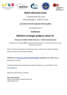 Pozvánka na 4. Konferenci SZÚ 16.6.2016 fin