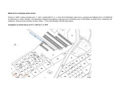 Město Krnov zveřejňuje záměr změnit: Smlouvu č. 9097 o nájmu
