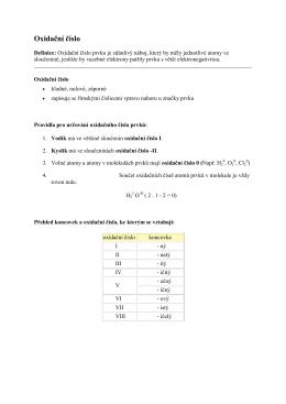 Oxidační číslo