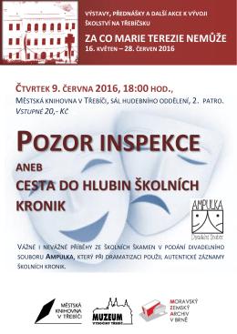 pozor inspekce - Městská knihovna v Třebíči