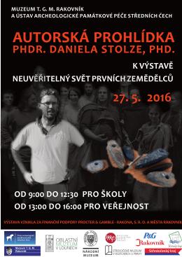 phdr. daniela stolze, phd. - Muzeum T. G. M. Rakovník