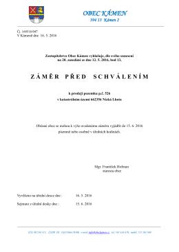 Výpis z usnesení