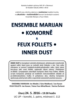 Ensemble Marijan a Feux Follets