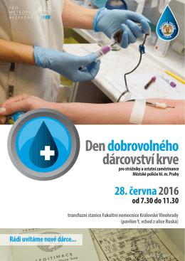 plakát krev červen 2016