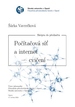 Počítačová síť a internet — cvičení