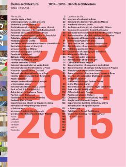 Česká architektura 2014-2015 - Konverze Synagogy v