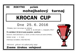 Nohejbalový turnaj KROCAN CUP
