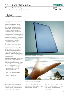 projekční podklady Projekční podklady Solar Set 1, Solar