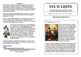 Župni listić br.237. (22.5.2016.) - Župa Uznesenja Blažene Djevice