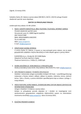ZahtjevPP_hotelske i restoranske usluge_UnisportHR