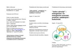 """""""Jedno zdravlje"""" – emergentne i re - Veterinarski fakultet Sveučilišta"""