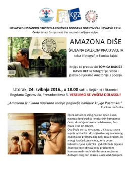 amazona diše - Hrvatski PEN Centar