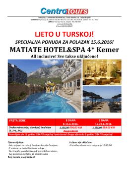 ljeto u turskoj!