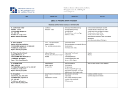 Popis ambulanti školske medicine 2016.