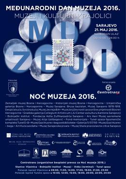 muzeji i kulturni krajolici međunarodni dan muzeja 2016.