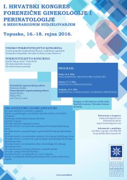 i. hrvatski kongres forenzične ginekologije i perinatologije
