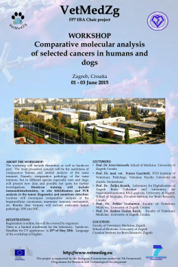 WORKSHOP Comparative molecular analysis of selected cancers in