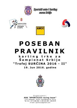 """""""Trofej Surčina 2016 II"""""""