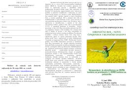 Program i prijave