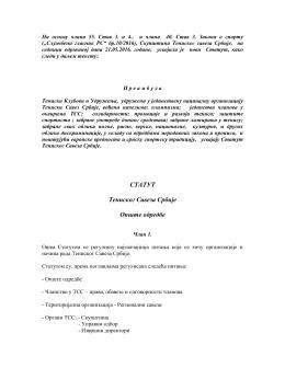 Statut TSS od 21.05.2016
