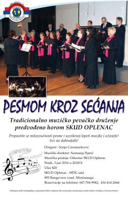 Tradicionalno muzičko pevačko druženje predvođeno