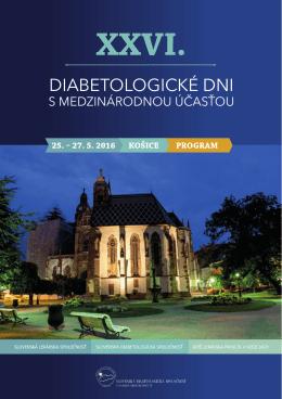 XXVI. - Slovenská diabetologická spoločnosť