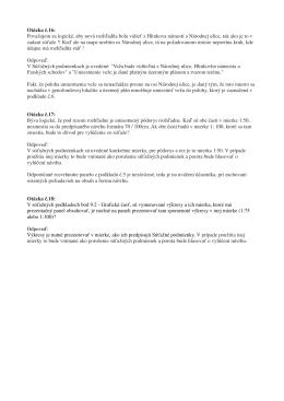 Otázky a odpovede 4. zverejnené 9.5.2016