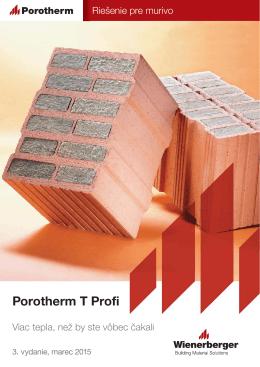 Porotherm T Profi