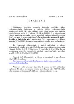 Čerpacia stanica pohonných hmôt – Bratislava
