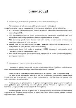 opis aplikacji PDF