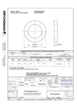 TX102/66/25-3C11 3C11