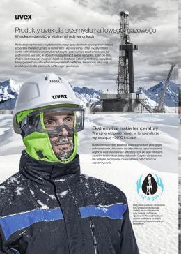 Produkty uvex dla przemysłu naftowego i