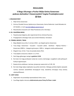 regulamin biegu - eOstroleka.pl