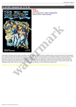 Yu-Gi-Oh!: Volumes 16, 17 & 18
