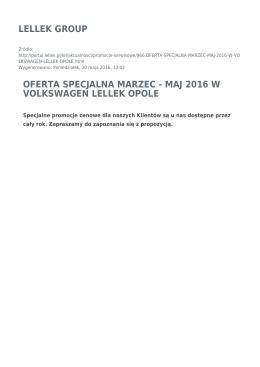 Generuj PDF - LELLEK Group