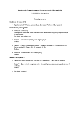 Projekt programu